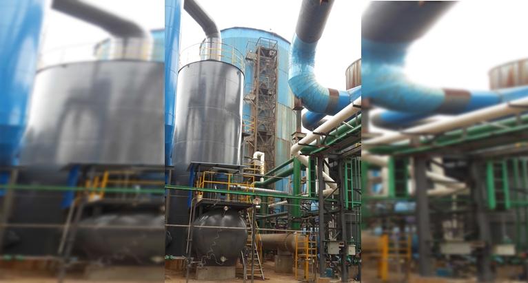 多种试剂硫酸工艺装置