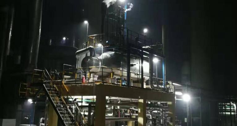 太仓硫酸低温余热回收工艺设备