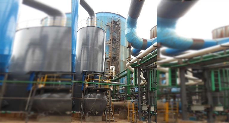 Clean high purity sulfuric acid plant